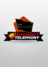 "2014NFV Pioneer Award""nXer™ SBC"" awarded the TMC's ""2014 Internet Telephony NFV Pioneer Award"""