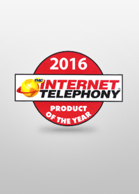 "2016Internet Telephony Product Award""Cloud SBC"" awarded the TMC's ""2016 Internet Telephony Product of the Year"""