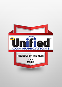"2018Unified Communications Product Award""Rich RCS(Rich Communication Suite) Solution"" awarded the TMC's ""2018 Unified Communications Product of the year"""