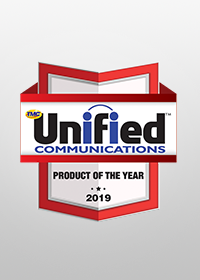 "2019Unified Communications Product Award""Nable Telephony Solution"" awarded the TMC's ""2019 Unified Communications Product of the year"""